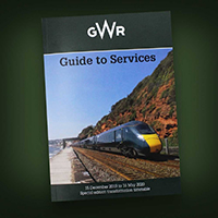 GWR- Guide to Services, 15 December until 16th May 2020