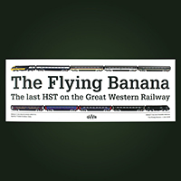 Carriage Window Labels - The Flying Banana